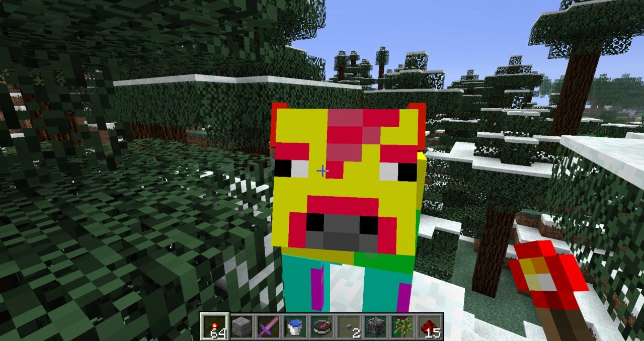how to change mobs in minecraft texture pack