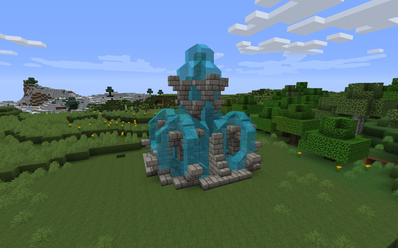 Epic Fountain Not My Idea Minecraft Project