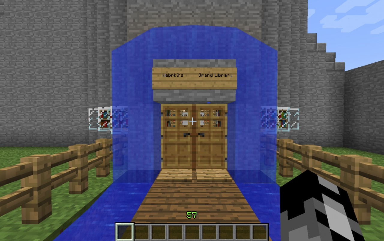 Grand Library Minecraft Project