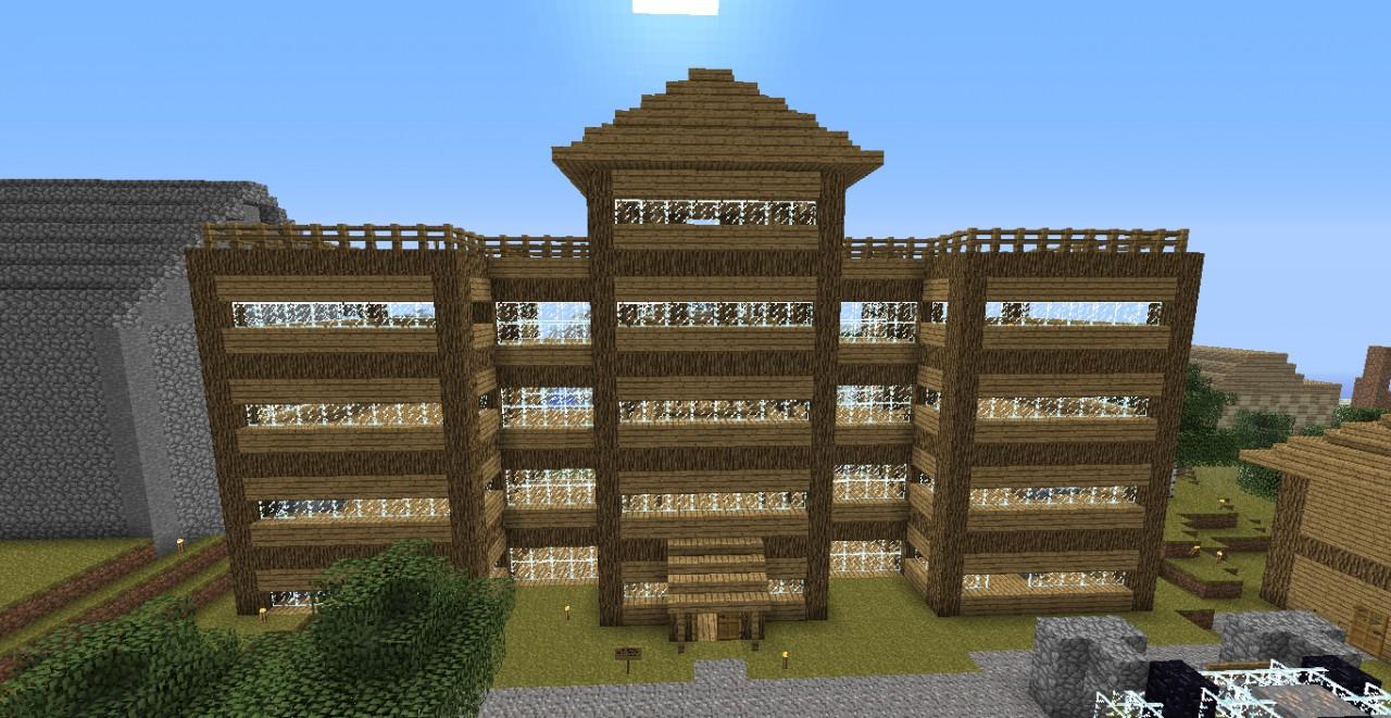 no cheat design house Minecraft Map