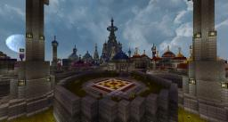 World of Warcraft - Dalaran Minecraft Project