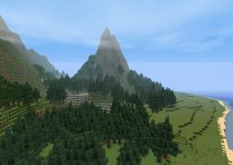 Twin Islands - Cinematic - Medium Sized Custom Terrain Map - 4O Subscriber Special! Minecraft Map & Project