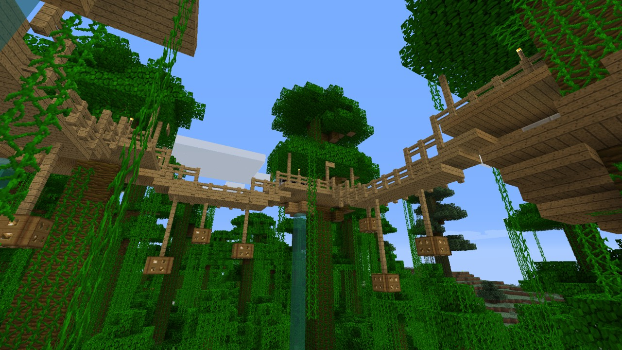 Cool Minecraft Jungle Tree Houses | www.imgkid.com - The ...