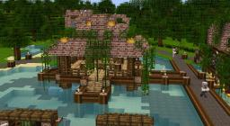 A different Village Minecraft Map & Project