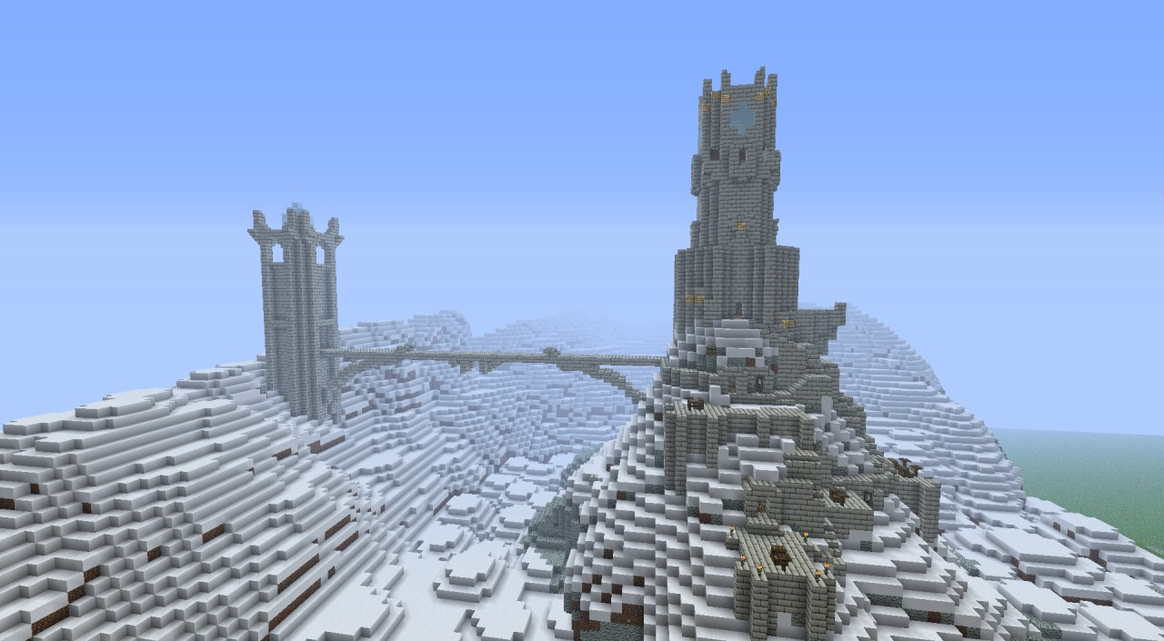 The great observatory the city of stone minecraft project a frontside look of the scene voltagebd Image collections