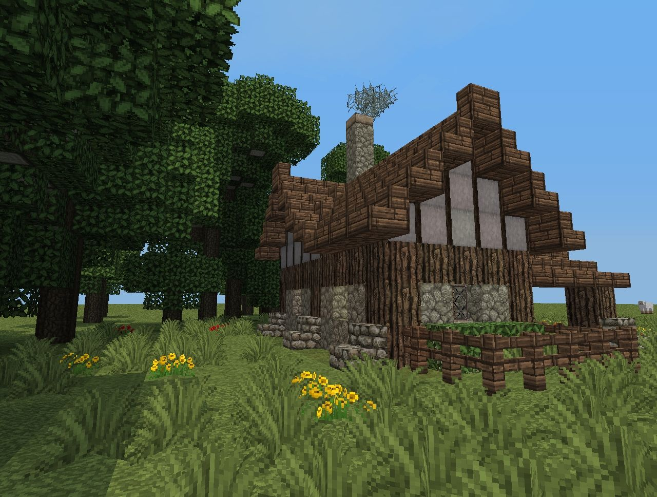 Small medieval house design minecraft project for Medieval house plans