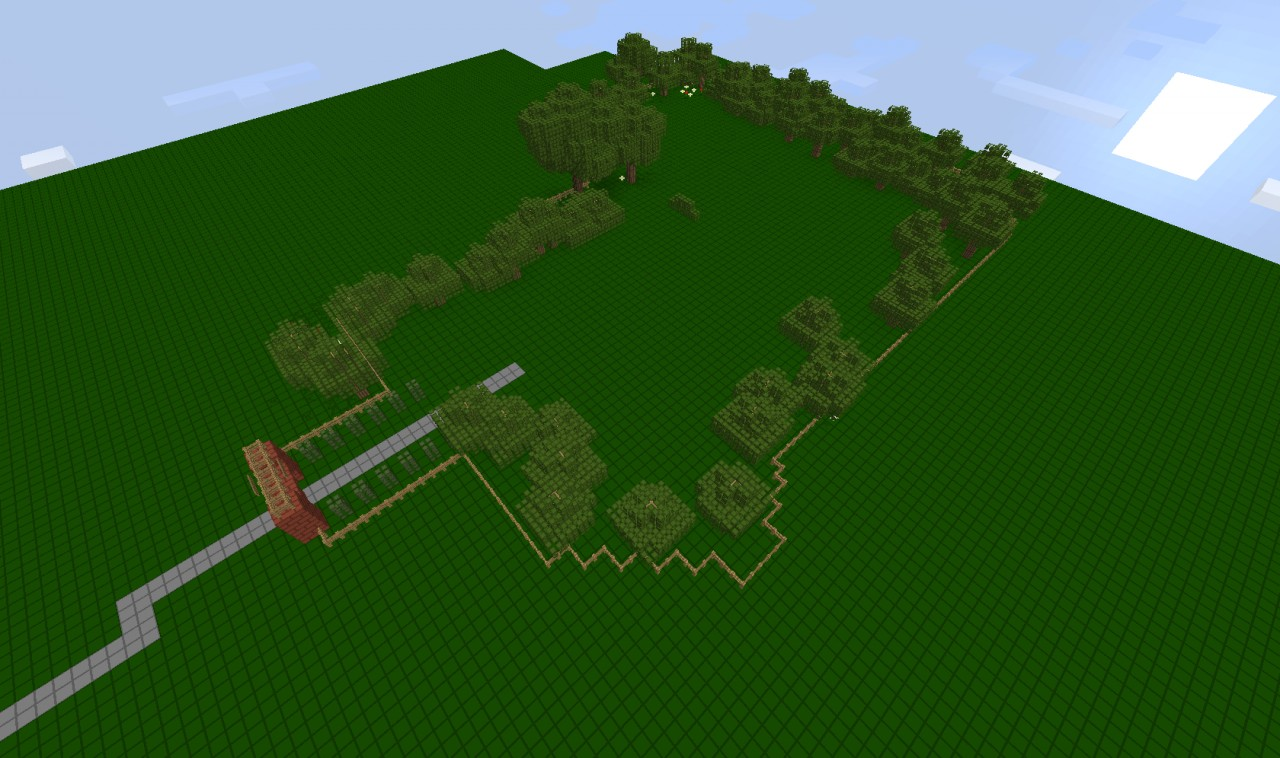 Rollercoaster tycoon 1 - Forrest frontiers -build map