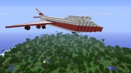 Jumbo Jet [My first project!] A Jumbo Jet / Boeing by CaptainCarlo Minecraft Map & Project