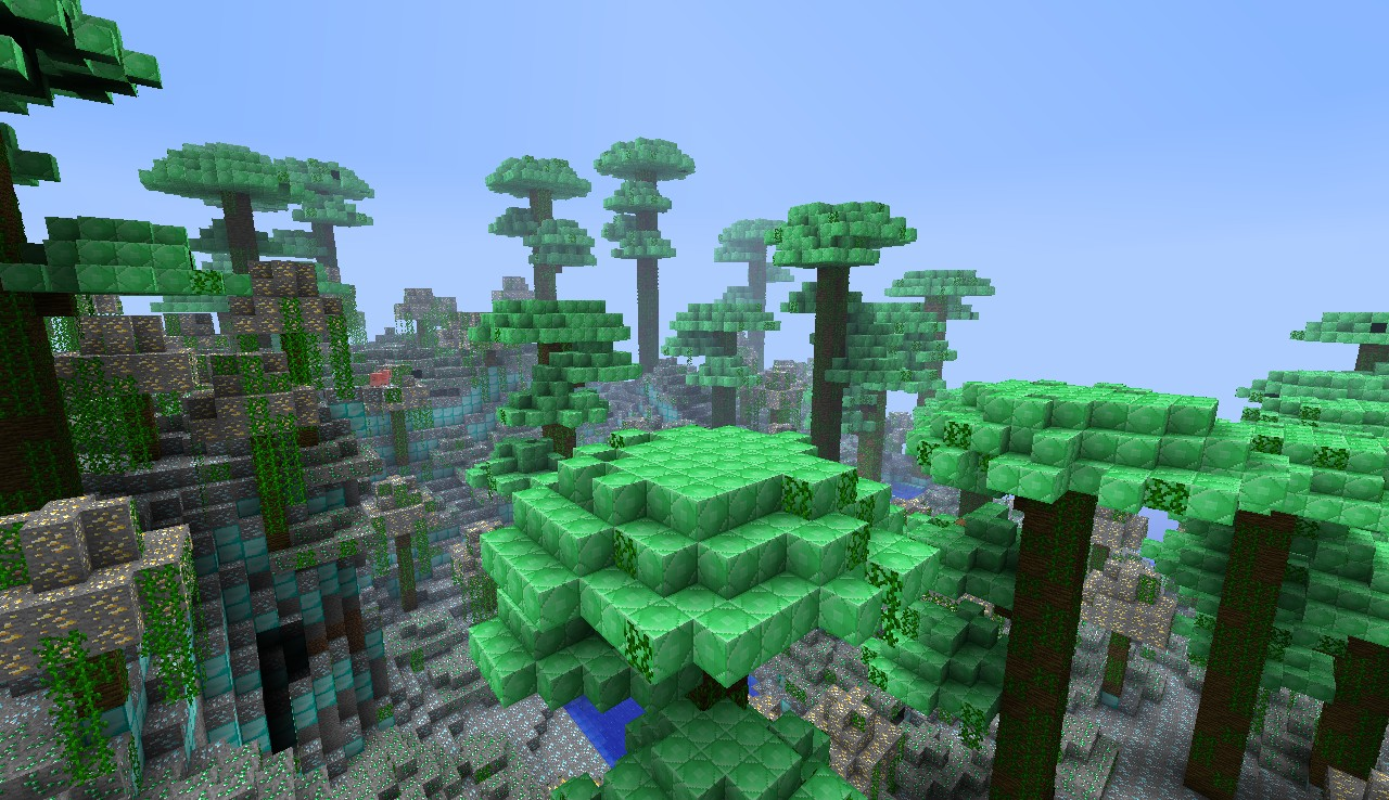 Emerald jungle biome
