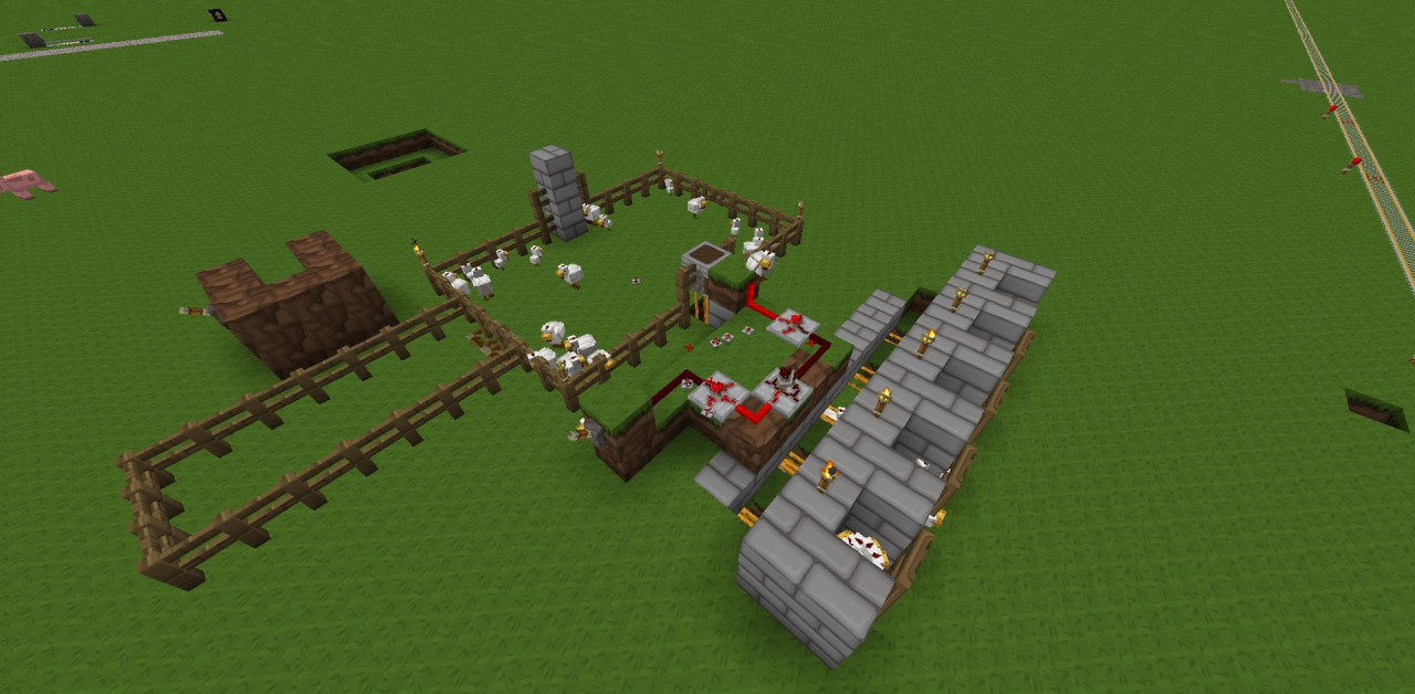 how to make a dispenser in minecraft work using eggs