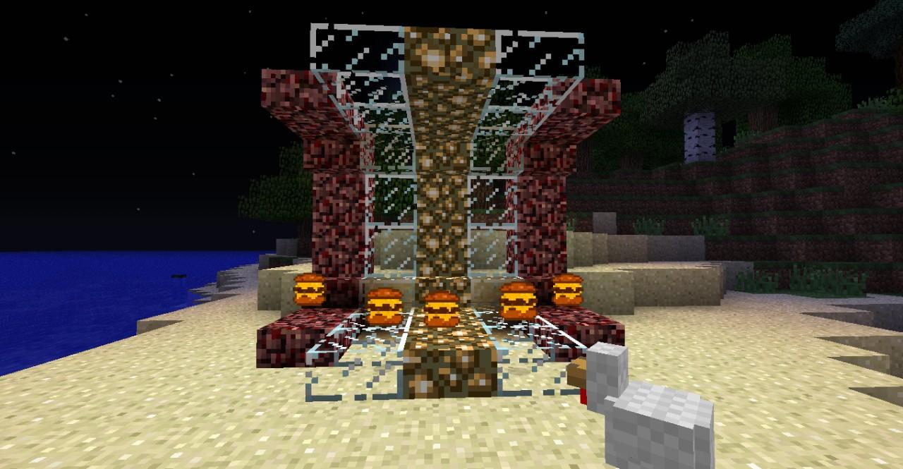 Cheeseburger throne :D