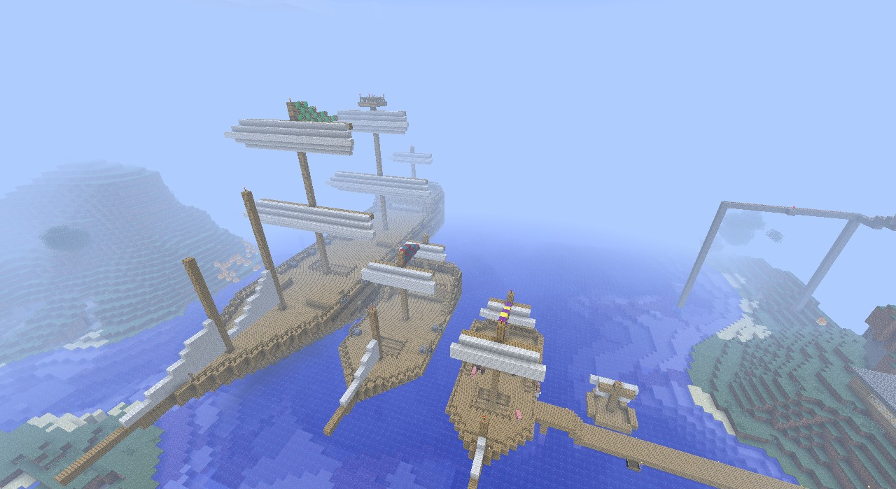 sailing ships minecraft project