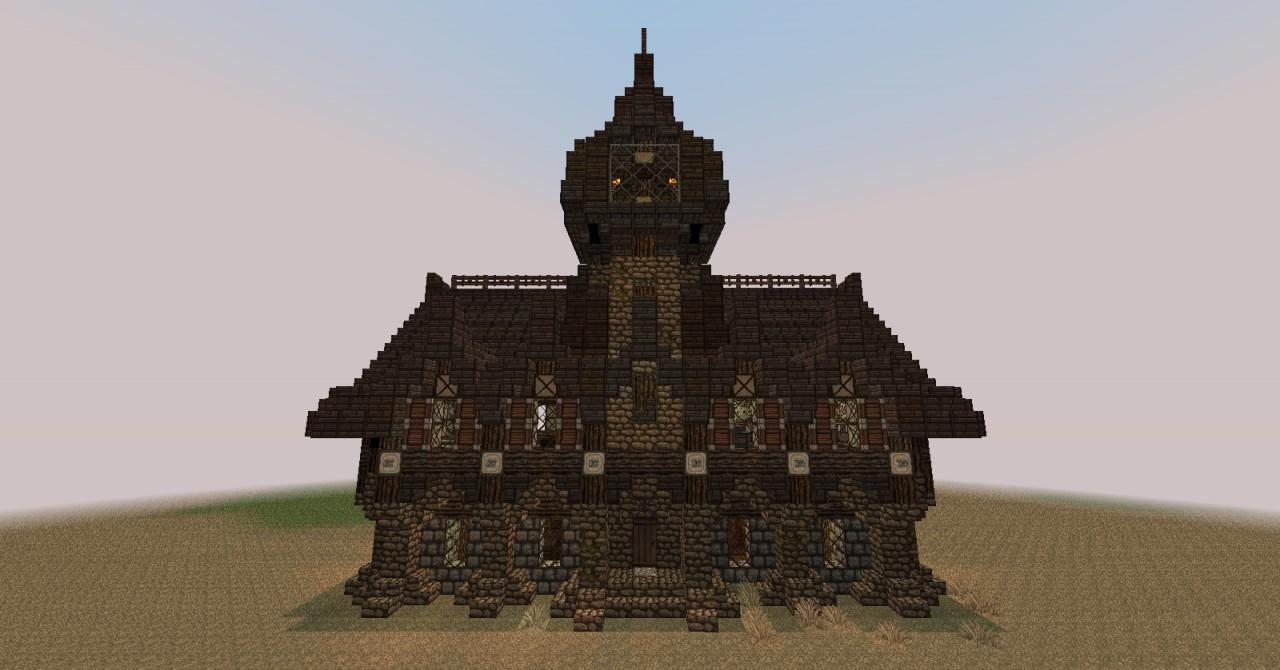 Jamziboy Minecraft Gothic Style Manor Minecraft Project