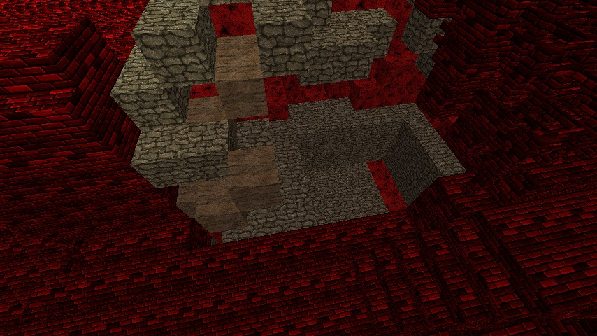 Repaired Nether Fortress Minecraft Project