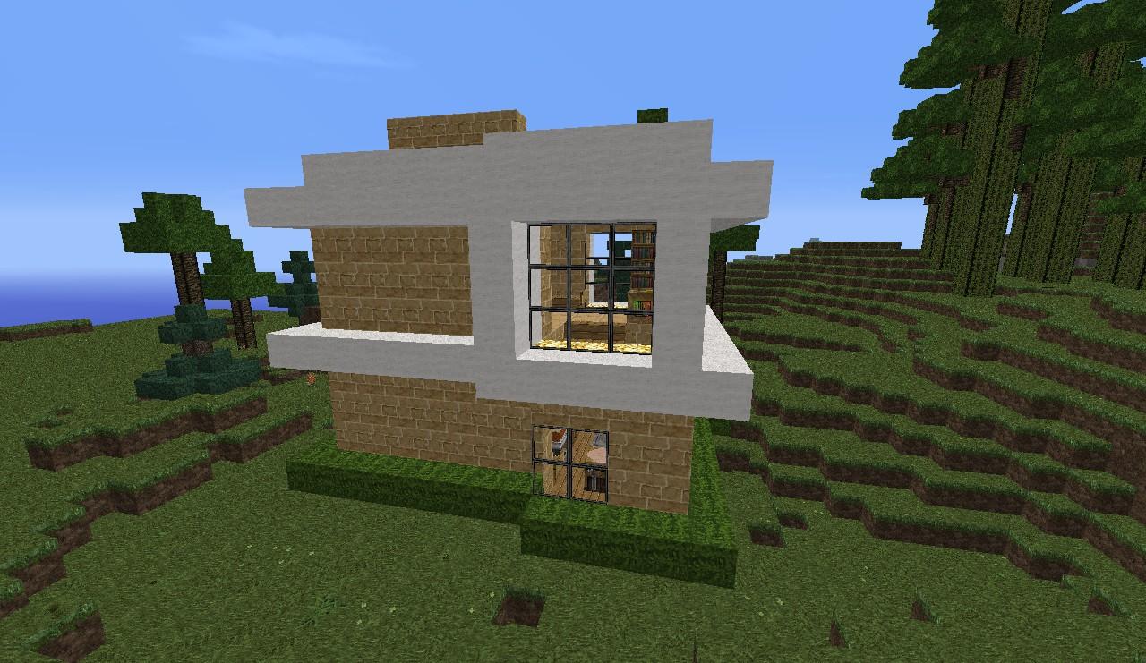 A modern house please read description minecraft project for Modern house description