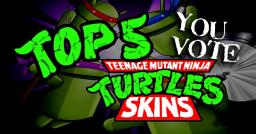 Top 5 TMNT skins of all time Minecraft Blog