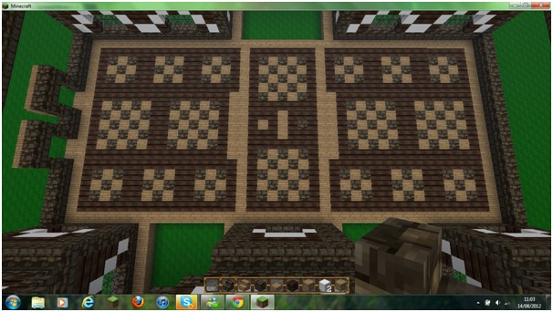 Medieval floor design any thoughts minecraft project for Minecraft floor designs