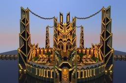 Golden Citadel of Altera Minecraft Map & Project