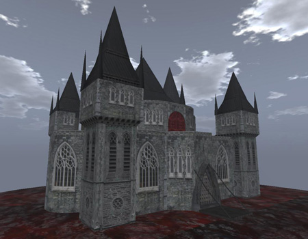 Gothic Architecture Minecraft Project