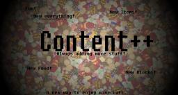 Content++ [1.3.2] [Multiplayer Compatible] {Source Code} Minecraft Mod