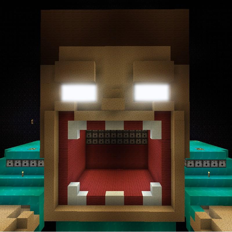 Pics For > Herobrine Head Minecraft