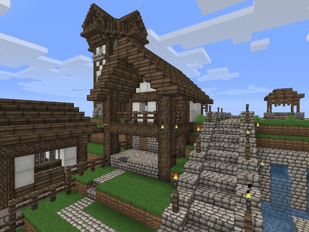 Still Ville needs you Old fashioned village Minecraft Project