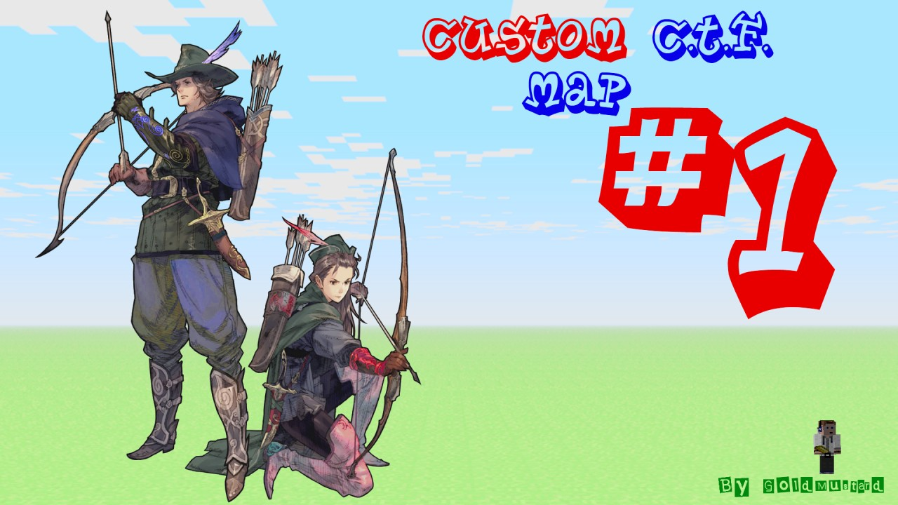 Capture The Flag Map #1 - By GoldMustard