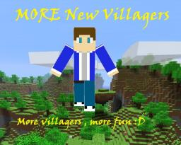 MORE New Villagers Mod ( Need MCPatcher ) (Removed Herobrine) Minecraft Mod
