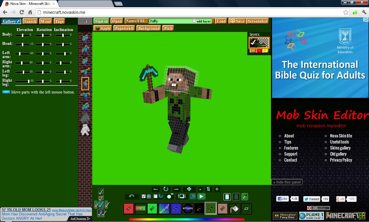 Is it free to make your own Minecraft skin?