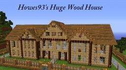 Huge Wood House | Popular | Diamond :D | Now for Mac Too Minecraft Map & Project