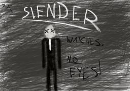 SLENDER- Fan art Minecraft Blog