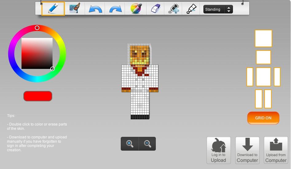 Minecraft Skin Maker Editor Minecraft Project