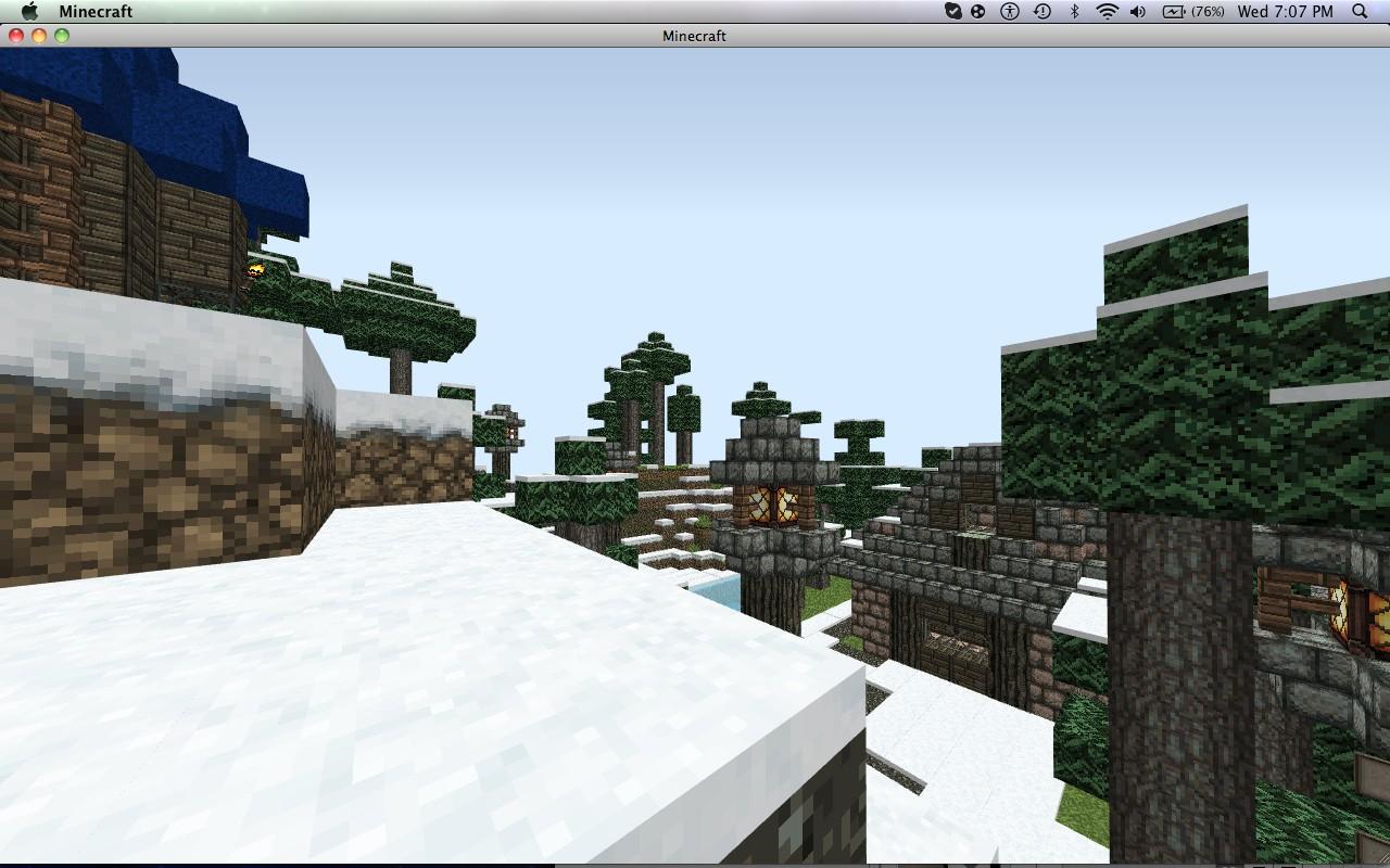 Minecraft medieval village (Work In Progress)