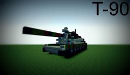 T-90 -  Russian Main Battle Tank Minecraft Map & Project