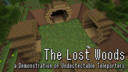 The Lost Woods - a Demonstration of Undetectable Teleporters Minecraft