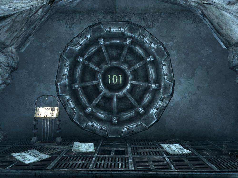 Vault 101 Door