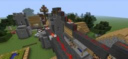 Village w/ PowerLines - Playable! Minecraft Map & Project