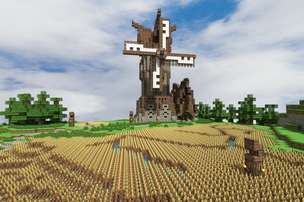 Building A Windmill House