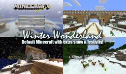 Winter Wonderland v1.3 - Default Minecraft with extra snow & festivity! Minecraft Texture Pack