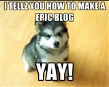 HOW TO MAKE EPIC BLOGS! Minecraft Blog
