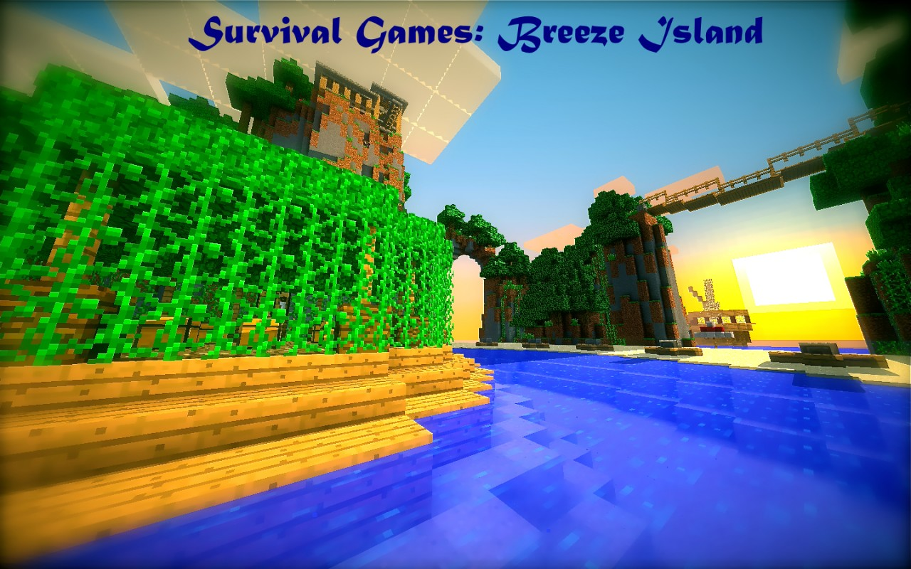 Minecraft Survival Games Breeze Island Minecraft Project