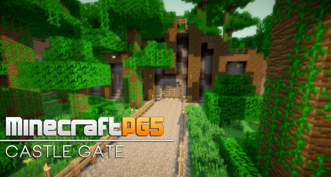 Fence Gate Design Minecraft