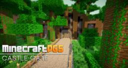 Fast Castle Gate - Fence Gate Remake Minecraft Minecraft