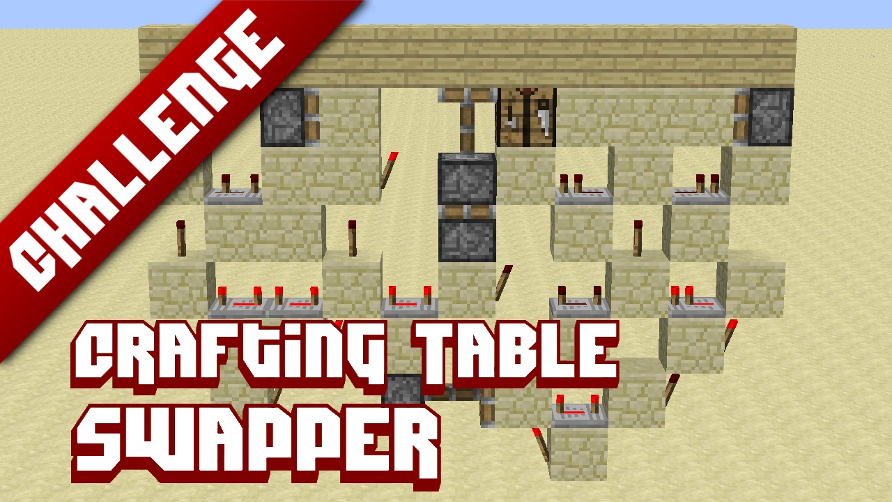 Crafting Table Swapper Minecraft Project