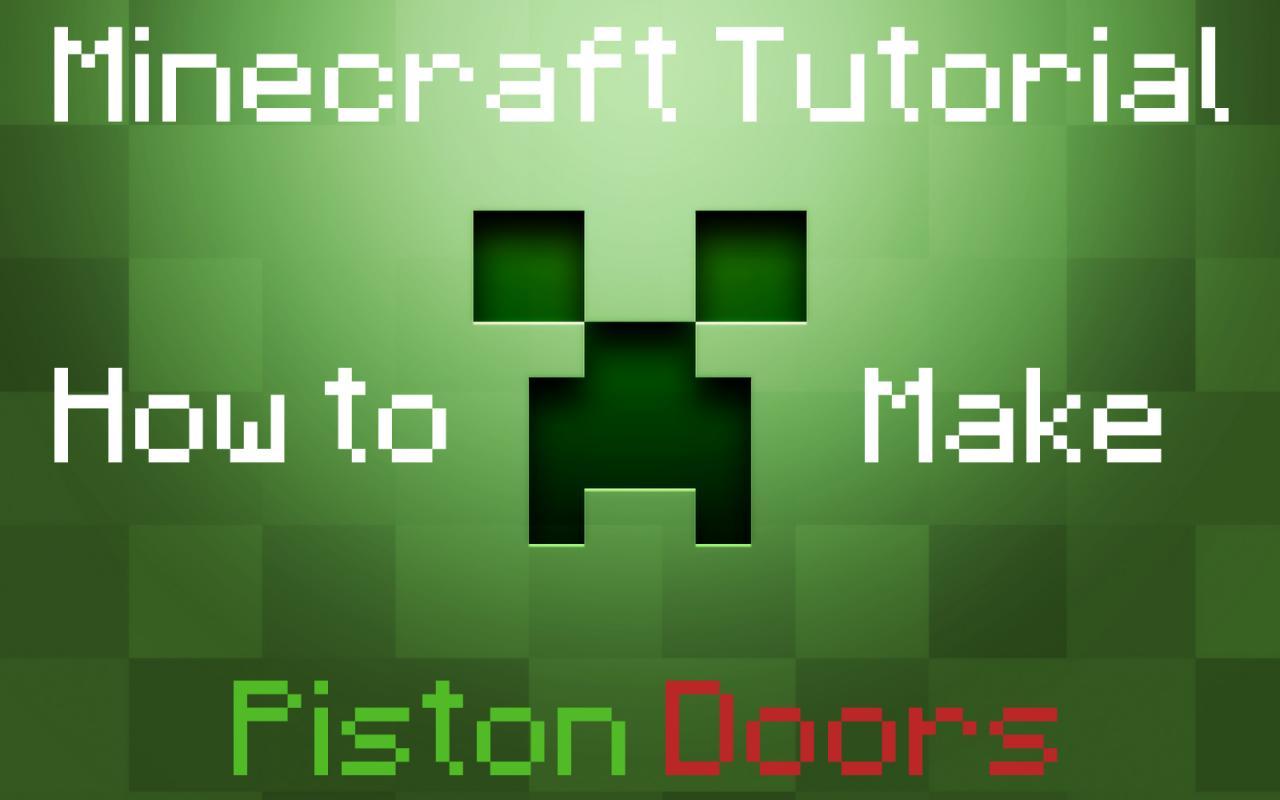 How To Make Piston Doors