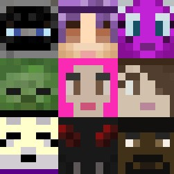 Faces For Blocks Minecraft Texture Pack