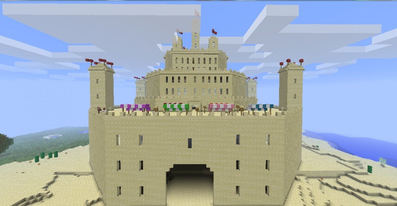 The Ultimate Sandcastle Built By The Cashewmonkey Spawn