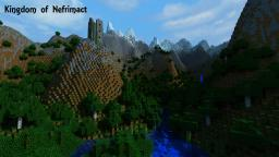 Kingdom of Nefrimact: custom survival map Minecraft