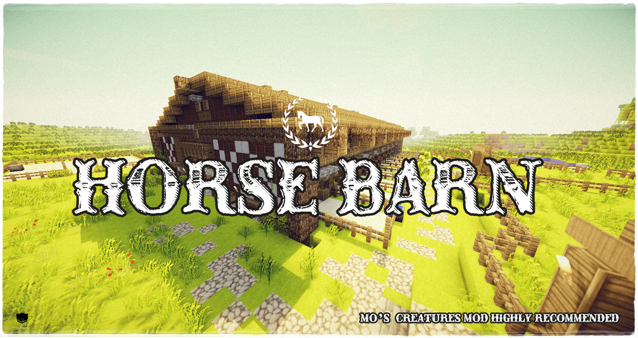 The Horse Barn Minecraft Map