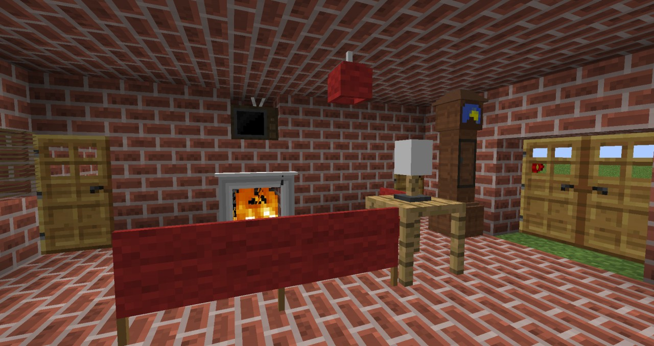 Jammy furniture house [1 4 5] UPDATED no bugs Minecraft Project